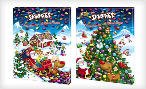 Calendar Buy Canada 12 For 2 Smarties Advent Calendars From Nestle Canada A
