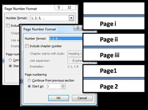 section breaks and page numbers how to add different page number for different sections
