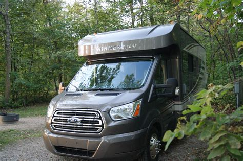 ford transit rv winnebago fuse review a ford transit based compact