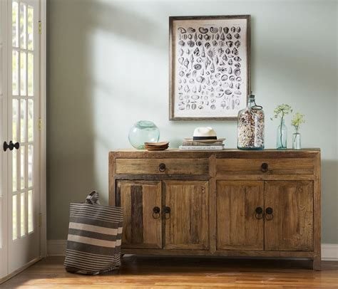 jackson sideboard boston interiors i really this paint color with the wood the