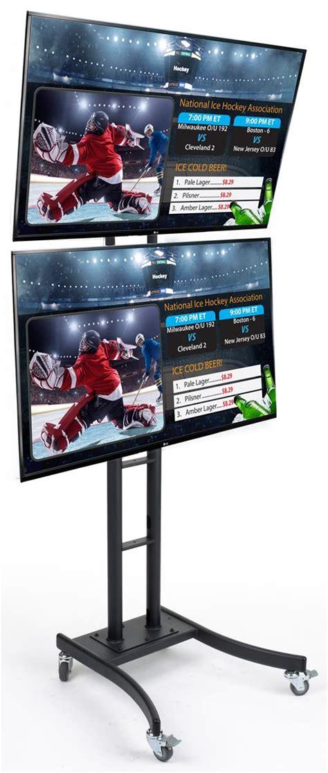 Tv Digital Signage digital signage tower lg 174 supersign monitors