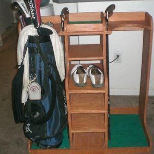 garage golf bag organizer golf bag organizer built by ryobi nation member broski0433