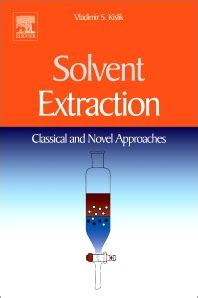 solvent extraction st edition