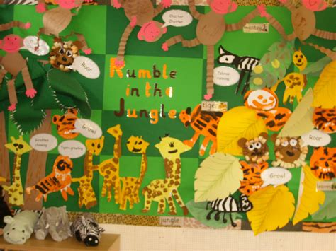 safari themes gallery rumble in the jungle classroom display photo photo
