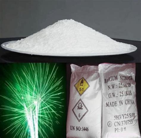 Barium Nitrate by China Barium Nitrate For Fireworks Manufacturers