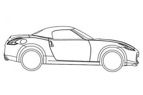 370z Coloring Page by Tekeningen Nissan 370z Roadster Gelekt Autonieuws