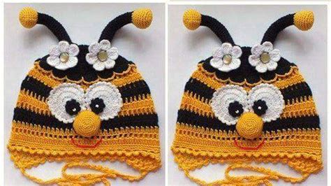 gorros tejidos en crochet para bebes de animalitos 2016 gorros tejidos a crochet para ni 241 os de animales imagui