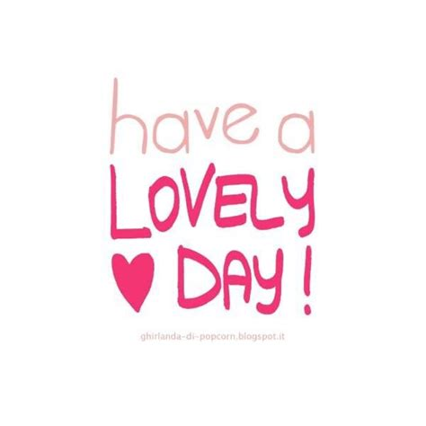 lovely day quotes