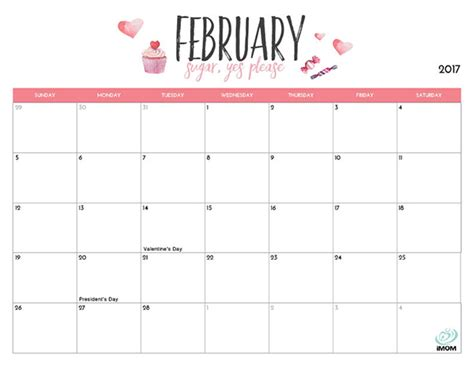 Printable Calendar Mom | 2017 printable calendar for moms imom