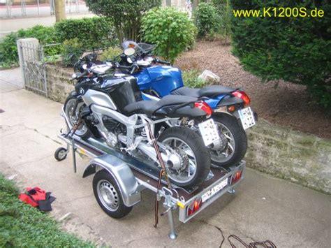 Motorrad Auf Anhänger Befestigen Bilder by Bmw K Forum De K1200s De K1200rsport De K1200gt De