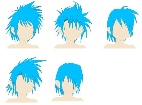 shonen hairstyles shonen hairstyle reference by spellcaster723 on deviantart