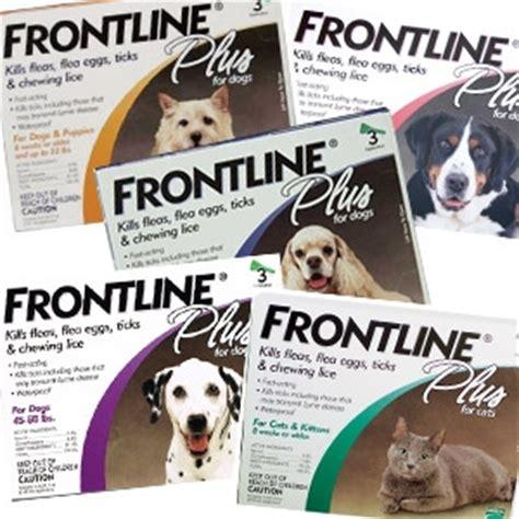 flea tick frontline plus dogs frontline plus 174 flea tick for dogs cats bryan brittingham inc delmar de