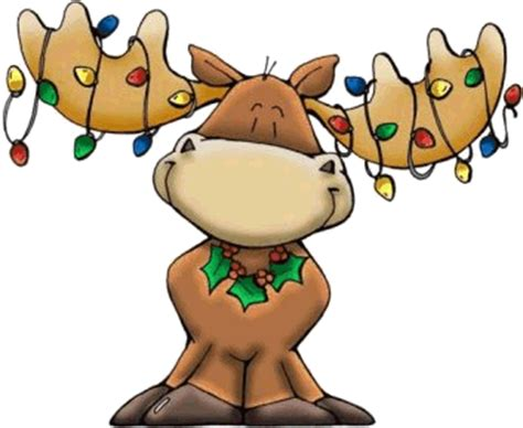 christmas moose glasses or moose mugs and decorations from