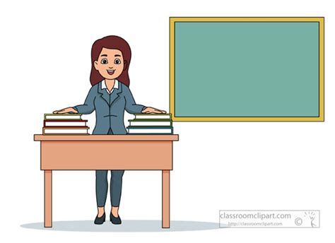 with a view books school clipart in classroom with stack books on