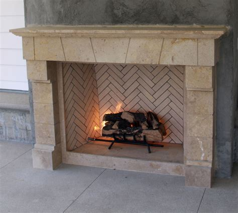 Modular Outdoor Fireplace Systems by Fireplace Systems Outdoor Masonry Brick Fireplaces