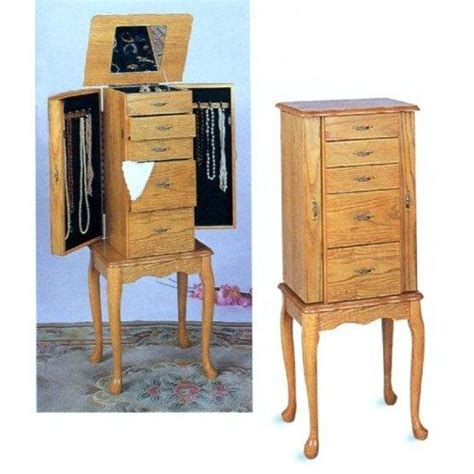 light oak jewelry armoire standing mirror jewelry armoire slideshow