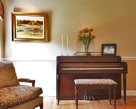 piano in living room the philosophy of interior design decorating around an