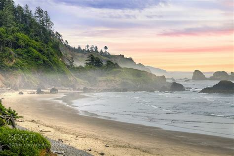 photograph indian beach in ecola state park oregon by