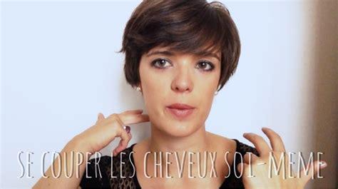 Couper Les Cheveux Femme by Se Couper Les Cheveux Courts Soi Meme Femme