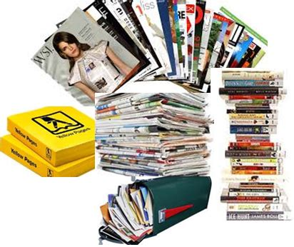 Books Newpapers As by Things You Can Toss Out To Create A Clutter Free Space