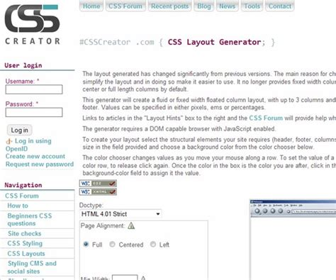 html and css layout generator powerful css tools and generators to automate your