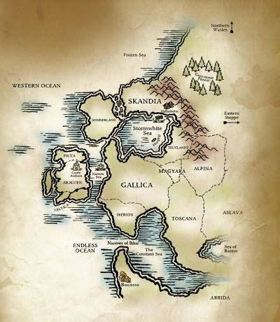 a map of the the searchers books map of the world of ranger s apprentice forgot what it