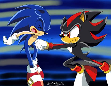 Sonic A 12 E sonic x screenshot sonic vs shadow by sonikkufan94 on deviantart