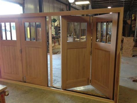 Slide And Fold Mahogany Doors Traditional Exterior Folding Barn Door