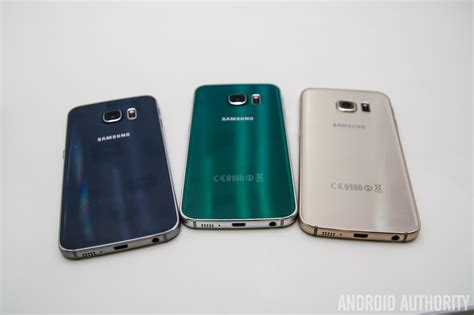 Samsung Galaxy S6 Colors Samsung Galaxy S6 Edge Color Comparison