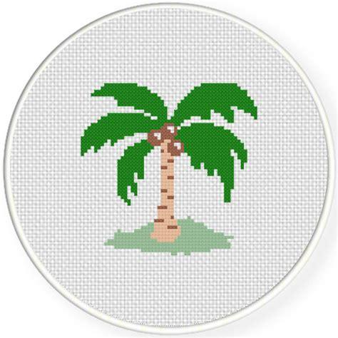 tree cross stitch pattern coconut tree cross stitch pattern daily cross stitch