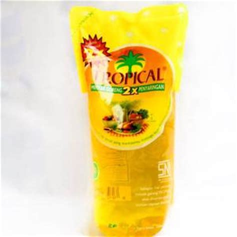 Minyak Goreng Tropical 500ml minyak goreng 1 liter tropical elevenia