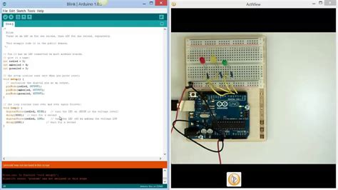 code arduino traffic light arduino introduction traffic lights youtube