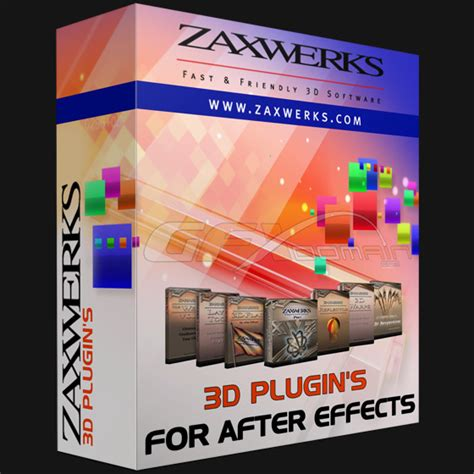 after effect 2013 zaxwerks 3d plugin s for after effects 2013 eng
