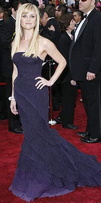 Reese Witherspoon At The 2007 Oscars by Best Dressed At The Oscars Reese Witherspoon
