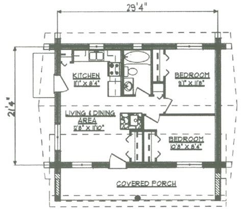 Log Cabin Floor Plans Under 1000 Sq Ft Log Cabin Home Plans Less Than 1000 Sq
