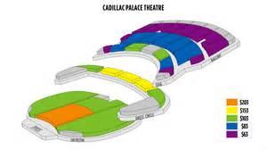 Cadillac Palace Seating Reviews Boston Opera House Seating Chart