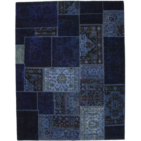 Patchwork Area Rug - blue patchwork area rug rugs for sale at 1stdibs
