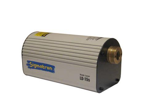 diode laser source ld 15s diode laser source sigmatron inc