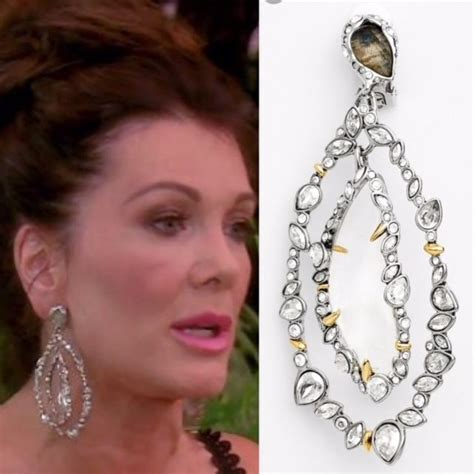 what earrings do the real houses wifes of beverly hills wear 17 best images about best of real housewives fashion on
