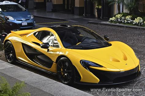 mclaren p1 spotted in beverly california on 11 22