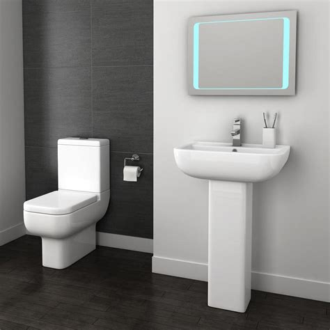 Modern Bathroom Suites Pro 600 Modern Free Standing Bath Suite Now At Plumbing