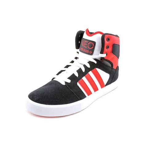 adidas s bbneo hi top leather athletic shoe