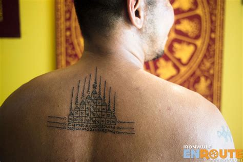 sak yant tattoo in chiang mai inked the easy way