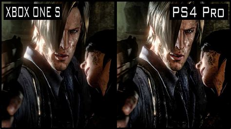 Ps4 Residen Evil 6 Ori resident evil 6 ps4 pro vs xbox one s graphics comparison