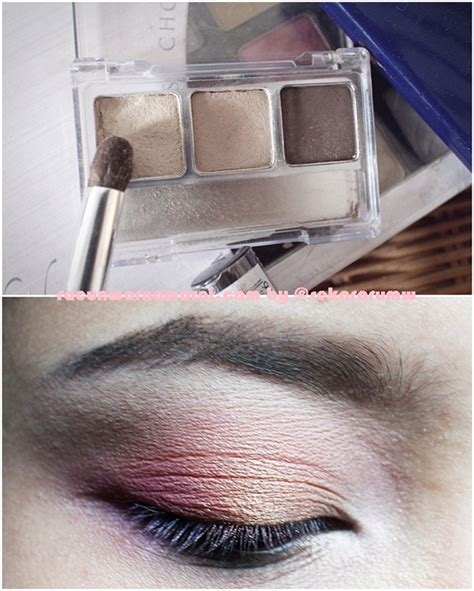 Eyeshadow Inez Atau Wardah racun warna warni eye make up tutorial pink october