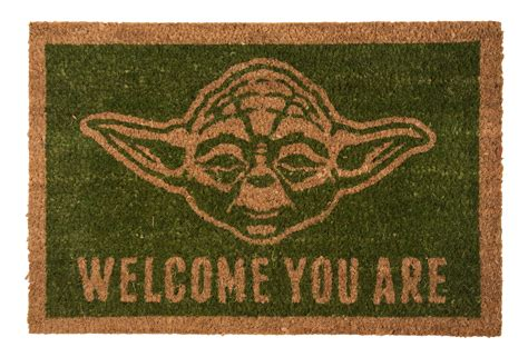 Mat About You by Wars Yoda Welcome You Are Door Mat