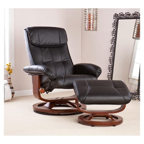 Black leather chair and ottoman sets classy leather chair and ottoman sets editeestrela design