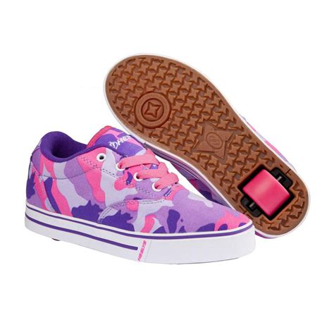rolling shoes for heelys launch shoes purple camo free uk delivery on