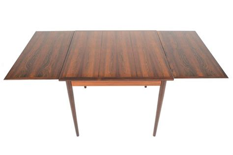 Square Dining Room Table With Leaf Rosewood Square Draw Leaf Dining Table For Sale At 1stdibs