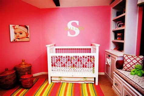 Decorating Ideas For Baby Girl Nursery Wall Decor Decorating Nursery Walls